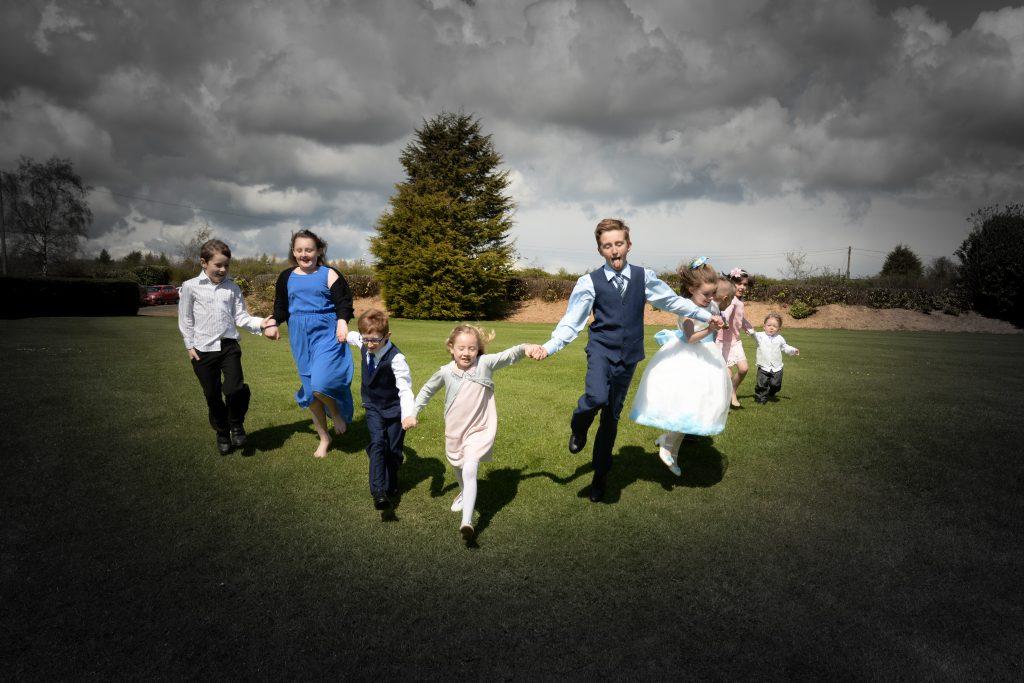 Informal wedding photography near Rutland Water