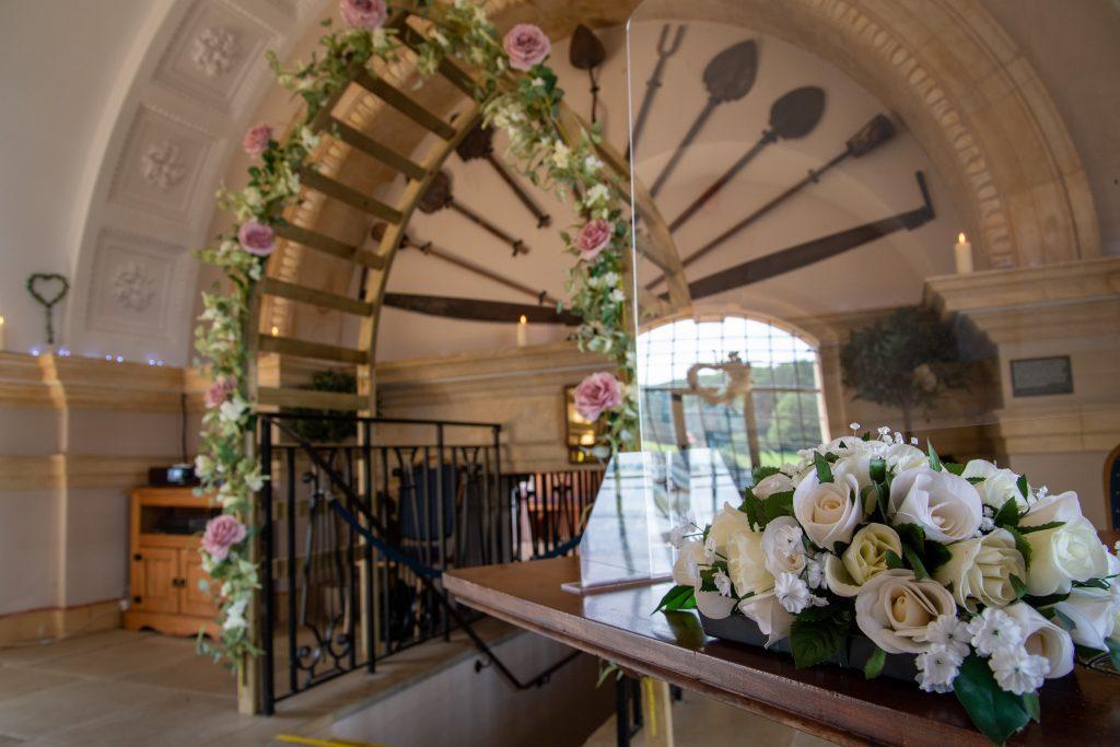 wedding photography at Normanton Church by a Rutland based wedding photographer